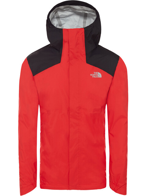 The North Face Purna 2.5L Jacket Men fiery red/TNF black